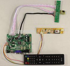 (32.85$)  Buy here  - HDMI+VGA+AV+Audio+USB Controller board VST29.01B for 1024*768 20Pin lcd panel for raspberry