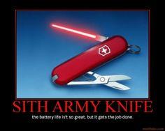 Star Wars Sith Army Knife