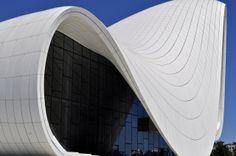 Heydar Aliyev Cultural Centre Cultural Center, Zaha Hadid, Beautiful Buildings, Centre, Architecture, Arquitetura, Architecture Design