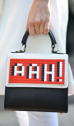 How cute is this LEGO purse?