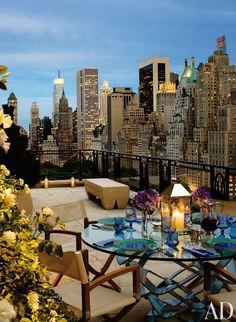 Rooftop outdoor space