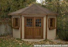 Summerwood Sheds Kits - Whitby Ontario #howtobuildashed