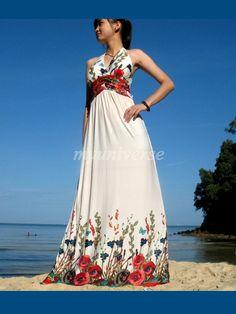 Elegant Maxi Dress Romance Evening Long Dress Sundress/ Bridesmaid dress/ Wedding Dress. $45.00, via Etsy.