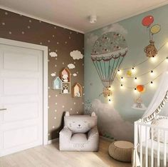 Ideen für Kinderzimmerdekoration Ideas for nursery decor, Baby Bedroom, Baby Boy Rooms, Nursery Room, Kids Bedroom, Nursery Decor, Bedroom Decor, Room Kids, Baby Room Ideas For Girls, Girl Rooms