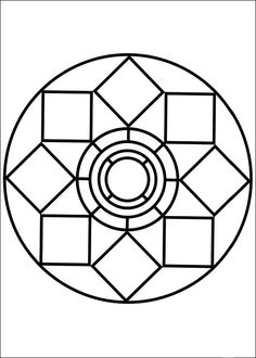 Mandala 79 coloring page - Free Printable Coloring Pages Pattern Coloring Pages, Mandala Coloring Pages, Free Printable Coloring Pages, Coloring Pages For Kids, Coloring Books, Image Mandala, Mandala Art, Mandalas Painting, Mandalas Drawing