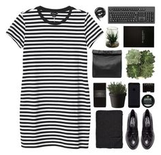 """maybe i was born good looking"" by acquiescence ❤ liked on Polyvore featuring Monki, H&M, Alicia Adams, Zara, Muuto, NARS Cosmetics, Jayson Home, Urbanears, Marie Turnor and Burberry"