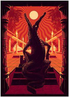 Psych Night by MUTI, via Behance