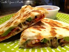 South Your Mouth: Pizzadillas
