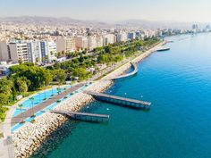 You better believe that the best cities to live in Europe also make excellent travel destinations! Limassol Cyprus, Seaside Park, Landscape Architecture Drawing, Living In Europe, Flight And Hotel, Cool Countries, Best Cities, Resort Spa, Beautiful Beaches