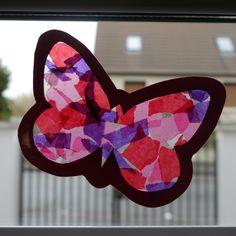 Papillons Découpage / Collage