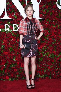Tavi Gevinson in Coach 1941 attends the 2016 Tony Awards on June 12, 2016