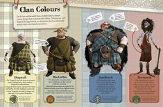 Brave: The Essential Guide: Clan Colours - brave Photo