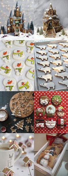 Christmas decor ideas | Новогодний стол: калейдоскоп идей - Ярмарка Мастеров - ручная работа, handmade