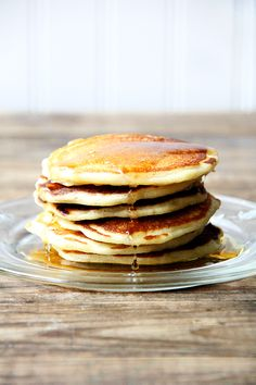 one-bowl buttermilk pancakes