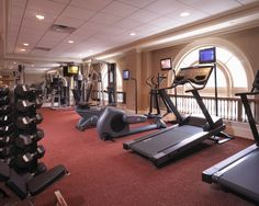 Fitness Center - The Hermitage Hotel, Nashville, Tennessee