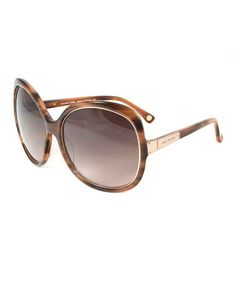 dda184a8fa Brown Tortoise Adrianna Sunglasses by Michael Kors  zulilyfinds