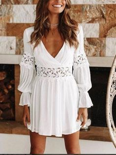Party Dresses macys plus size dresses retro party dress checkered dress – dearlly Cheap Dresses, Day Dresses, Plus Size Dresses, Summer Dresses, Prom Dresses, White Lace Mini Dress, White Floral Dress, Lace Dress, Womens White Dress