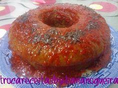 Troca Receitas By Diana Nogueira: Chiffon de Chocolate na Varoma com Molho de Morango