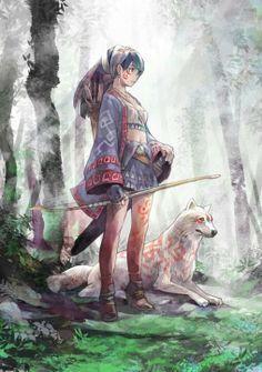 Resultado de imagen para indígenas anime