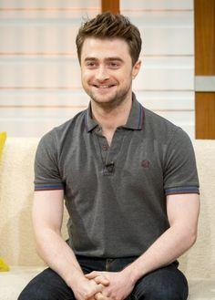 Dan on Good Morning Britain Good Morning Britain, Harry Potter Characters, Daniel Radcliffe, Favorite Person, The Man, Husband, Actors, Celebrities, Mens Tops