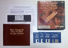The Ancient Art Of War In The Skies (Amiga)