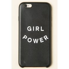 Girl Power iPhone 6 Case (275 UAH) ❤ liked on Polyvore featuring accessories, tech accessories, phone cases, phone, white iphone case, iphone case, iphone cover case and apple iphone cases
