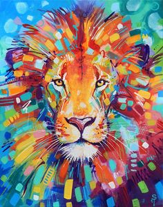 «Abstract Lion» de Sandra Trubin