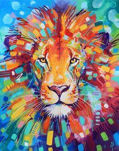 «Abstract Lion» de Sandra Trubin