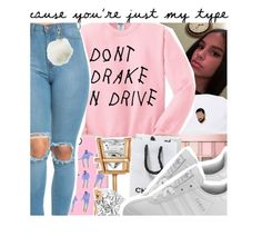 """""""Don't Drake N Drive//contest"""" by pocket-full-of-rainbows ❤ liked on Polyvore featuring Casetify, Allurez, Maybelline, Charlotte Russe and adidas"""