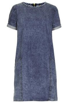 MOTO Acid Pocket T-Shirt Dress