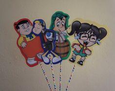 Archivo digital de Chavo del Ocho cupcake toppers por ScozShop