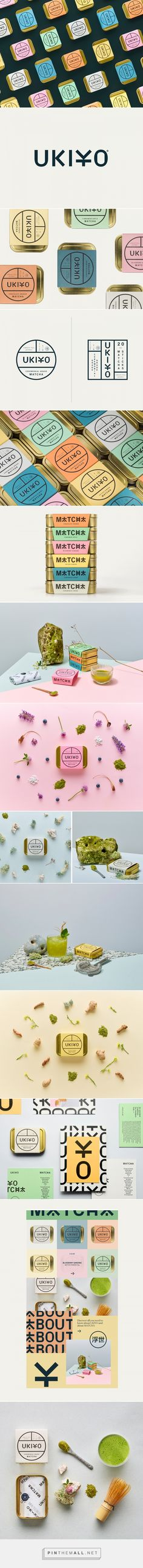 UKIYO Matcha Tea Packaging by I Want Design   Fivestar Branding Agency – Design and Branding Agency & Curated Inspiration Gallery  #tea #teapackaging #packaging #package #packagingdesign #packagedesign #packaginginspiration #design #behance #dribbble #pinterest