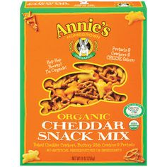 Annie's Homegrown Organic Bunnies Cheddar Snack Mix, 9 oz