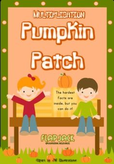 Multiplication Pumpkin Patch MagnetMat Fun - This title mixes fall and fun to help students master multiplication facts (in Spanish, too!). $