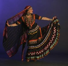 Kalbelia folk dancer (Gypsies in Rajasthan, India)
