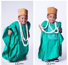 Top Trending and Exclusive Agbada Styles For Your Kids 2018 - Earth Lex African Babies, African Children, African Women, African Attire, African Wear, African Style, African Inspired Fashion, African Fashion, Toddler Fashion