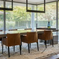 Shutters, Window Treatments, Conference Room, Dining Chairs, Windows, Curtains, Modern, Furniture, Home Decor