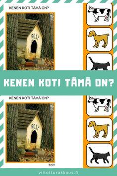 Kenen koti tämä on? Opi, Bird, Outdoor Decor, Animals, Home Decor, Animaux, Room Decor, Animales, Birds