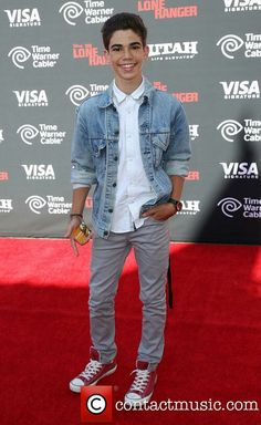 Photo of cameron boyce - The World Premiere of Disney-Jerry Bruckheimer Films' The Lone Ranger - Picture Browse more than pictures of celebrity and movie on AceShowbiz. Cameron Boyce, Jessie, Karan Brar, Jerry Bruckheimer, The Lone Ranger, Disney Channel Stars, Now And Forever, Dove Cameron, Rest In Peace
