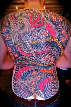 Tatuagens de Dragões (9)