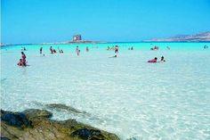 Stintino (SS) spiaggia La Pelosa. Sardinia/Cerdeña