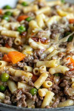 A packet of French onion soup mix gives this savoury mince some extra flavour, and baked with a cheesy topping in the oven, it'll be a hit with the whole family. #savourymince #mince #dinne Easy Mince Recipes, Minced Beef Recipes, Baked Chicken Recipes, Ground Beef Recipes, Meat Recipes, Healthy Recipes, Cooking Recipes, Healthy Food, Asian Recipes