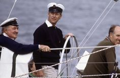 Prince Philip competed for the Queens Cup at Cowes Regatta on Aug. 1, 1982