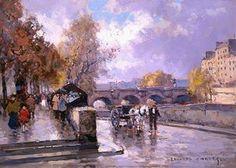 Quai de la Siene - (Edouard Cortes)