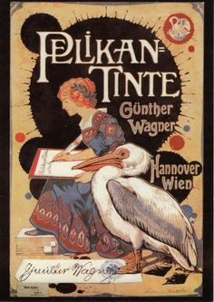 Pelikan Tinte Günther Wagner (1903) by dietherpetter, via Flickr