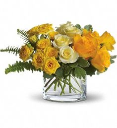 The Sun'll Come Out by Teleflora in CharlestonWV, Winter Floral and Antiques LLC