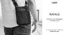 Nouveauté sacoche: la VO7 Rafale voit le jour !   Blog Officiel VO7® Men Fashion streetchic Bag black quilted