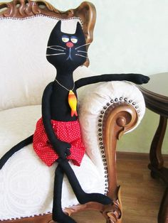 Текстильная игрушка. Коты
