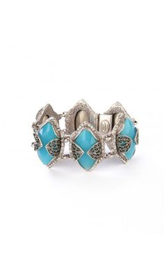 Gia Jewel Bracelet in Sky Blue
