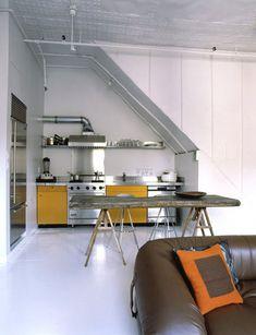 Cocina industrial.   Decorar tu casa es facilisimo.com
